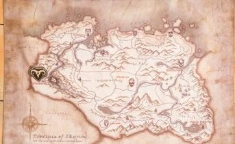 スカイリムの地図とマップマーカーのピンシリーズが発売