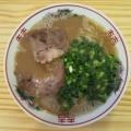 てっちゃん@上熊谷(埼玉県) 「豚骨らーめん、もつ煮、ほか」