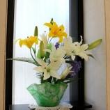 『今月の待合室の花:8月』の画像