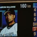 『【野球】日ハム・大谷 4試合連続160キロ計測』の画像