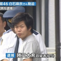 白石麻衣さんを脅迫 25歳男を逮捕※画像あり