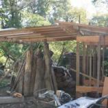『薪小屋つくり。』の画像