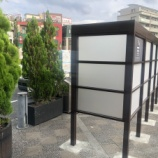 『【戸田市の動き】10月1日に市内JR3駅を囲む形で「喫煙制限区域」が設置されます。それに先駆けJR戸田公園駅西口の喫煙所が改修されました。』の画像