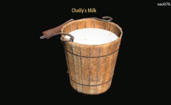 チャリーのミルク