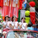 2003年 第53回湘南ひらつか 七夕まつり 織り姫 その2(市中パレード2)