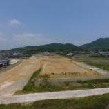 『広大な土地での道路工事です!!』の画像
