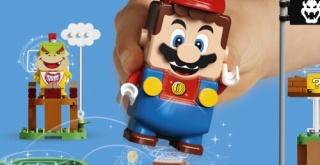 「レゴスーパーマリオ」が正式発表!コースを作ってコインを集める新しい遊び!