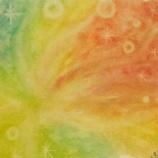『ベビートークアートセラピーのアート(お母さんの影響を受けやすい赤ちゃんと、赤ちゃんが教えてくれた胎内の話)』の画像
