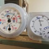 『《雨の日の室内干しを換気で早く乾かす!湿度計で部屋の湿度をコントロール》』の画像