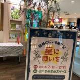 『短冊に願いを込めて!ビーンズ戸田公園店のまめまめスペースにたなばた飾りが設置されました。』の画像