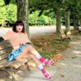 『【留美子讃歌 48】美人は絵になります ~新宿御苑~』の画像