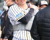 【終戦】阪神岡崎が2軍本隊から離脱 死球で左肩甲骨打撲