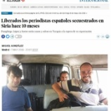 『ヌスラ戦線がスペイン人ジャーナリスト3人解放、カタールが仲介、安田さんでもかぎを握る?』の画像