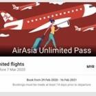 『エアーアジア Unlimited Passを買いました!』の画像
