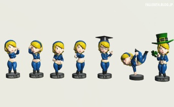 Bobble Girl - with Slooty Vault Suit