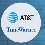 『AT&Tが減収減益決算を受けて株価下落するも、買い下がりが吉となります。』の画像