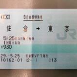 『総武本線・朝ラッシュ時ピーク時特急「しおさい4号」に佐倉から東京まで乗車してきました!』の画像
