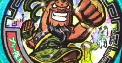 【QRコード】ブリー隊長関羽の武将メダル【妖怪三国志】