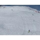 『アライオフピステチャレンジ、今日は気温も上がり修行系の雪でした。』の画像