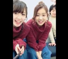 『【動画】℃-ute 鈴木愛理 萩原舞 のLINE LIVE! 2017.01.31』の画像