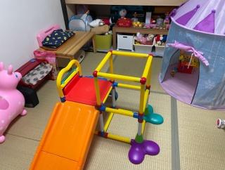おもちゃ片づけ◆収納状態で遊べるように!