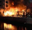 (名古屋) 老舗料理店「鳥久」が全焼 江戸末期建築で保存議論中