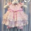 パンツ付き小花の子供ドレス ピンク(80cm)SOLD OUT