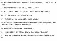 田北香世子によるAKB48クイズ、何問答えられる?