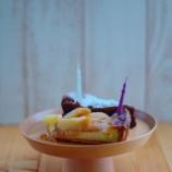 『木のカップとお皿でケーキスタンドに~合羽橋でお買い物~』の画像