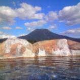『雲上の露天風呂』の画像