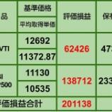 『②【7月の買い増し状況】8月8日 iDeCo、投信評価損益』の画像