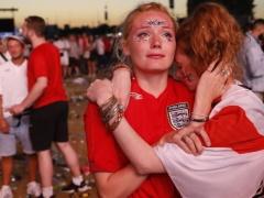 「100パーセント、選手たちを誇りに思う!時代変わった!」by イングランドサポーター
