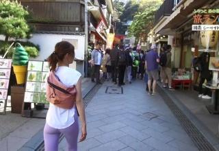 安田美沙子さんヒップラインまるだしで街中を徘徊してしまう