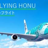 『【ANAトラベラーズ】ANA FLYING HONUチャーターフライト ---GWは4月29日、5月1日~5日(計6回)飛びます!---』の画像