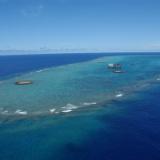 【画像】沖ノ鳥島の昔の姿wwwwwwwwwwこれは守りたくなるわ