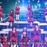 『紅白生放送で確認できた乃木坂メンバー『後列 立ち位置』一覧がこちら!!!』の画像