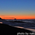 ロングビーチの朝焼け