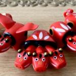 福島県の民芸品「赤べこ」が神話の世界に転生!「神獣ベコたち」になってガチャに登場!