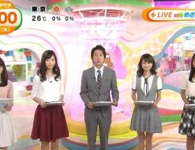 【画像】めざましテレビアクアの黒すぎる岡副麻希アナ、夏が終わって黒くなくなる