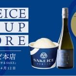 『関西初出店「SAKEICE」が阪急うめだ本店でポップアップストア!』の画像