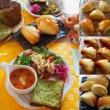 『中級 クリームパン、ドーナツ、シナモンロール、天然酵母 カンパ、フォカッチャ』の画像