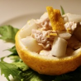 『「#ゆず活」宣言の店①  湯島・ビストログラッソ 地中海料理とゆずを楽しむ』の画像