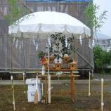 『雨の地鎮祭【新築】』の画像