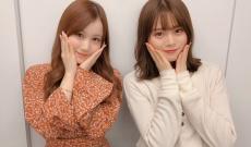 【乃木坂46】星野みなみと山崎怜奈の2ショットはかわいい&かわいい!