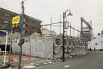 今年の2月に閉店したセブンイレブン交野駅前店の解体工事が進んでる!〜次は何ができるのかとか気になるところ〜