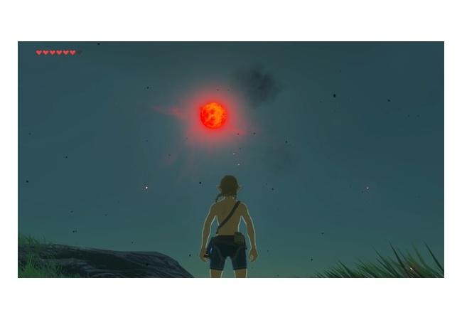 【ゼルダの伝説 ブレスオブザワイルド】月の雰囲気怖すぎ…