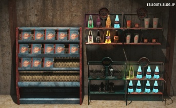 Nuka-Cola and Vim Display Racks