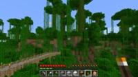 ジャングルの丘に家を建てる