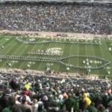 『【海外】スパルタン! 2013年ミシガン州立大学『ハーフタイムショー』フルショー動画です!』の画像
