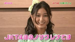 【速報】野澤玲奈がチームKに加入